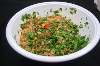 Chickpea and Cilantro Salad 2