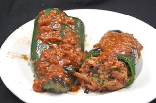Pulled Pork Stuffed Poblanos 5