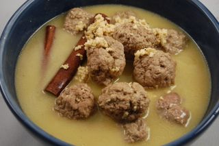 Lamb Meatballs in Yogurt Sauce 4