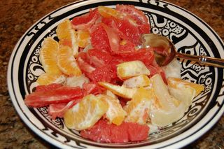 Citrus Fruit Salad with Herbal Broth 2