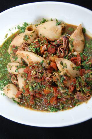 Squid in Tamarind Sauce 5