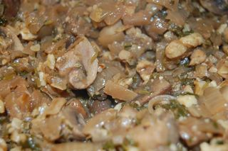 Mushrooms with Cilantro and Onions 2