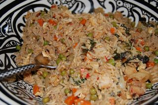 Spicy Shrimp Fried Rice 4
