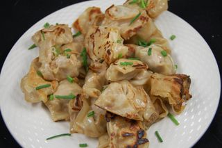 Turkey and Snow Pea Dumplings 6