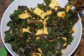 Tofu and Kale Piri Piri 3