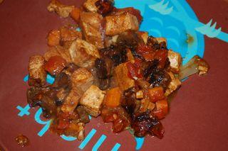 Braised Tofu 4