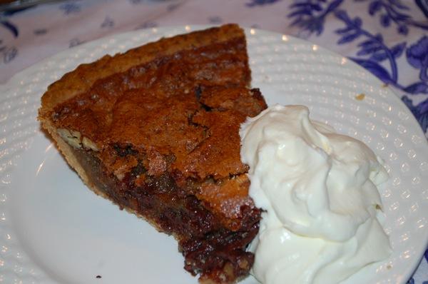 Chocolate Pecan Pie 4