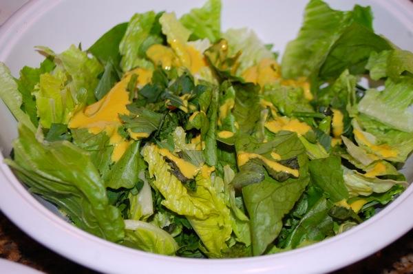 Celery Leaf Salad  2
