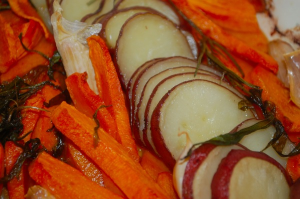 Roasted Potatoes and Squash 3