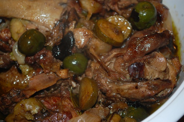 Duck with Olives 4