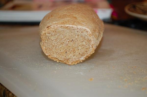 Whole Wheat Baguette 2