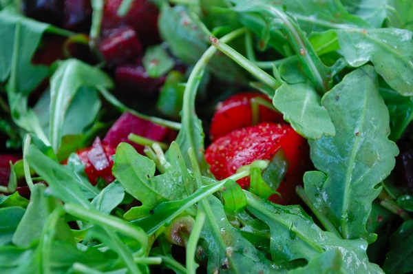Salad with Beets and Arugula 2