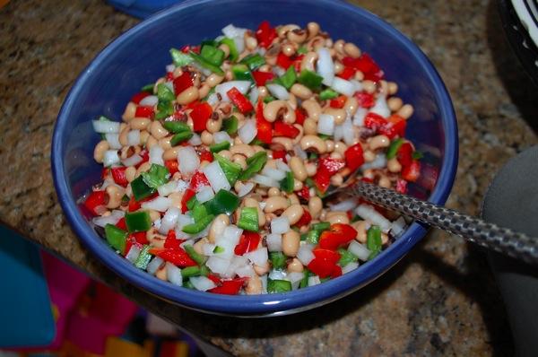 Black Eyed Pea Salad 1