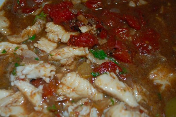 Fish with Tomatoes 1