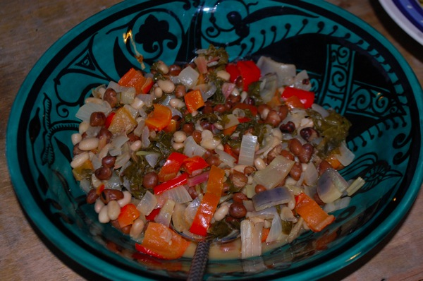 Beans with Peppers and Citrus 2