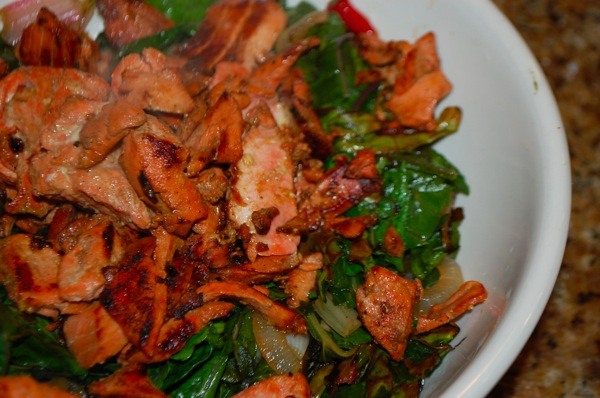 Salmon with Chard 3