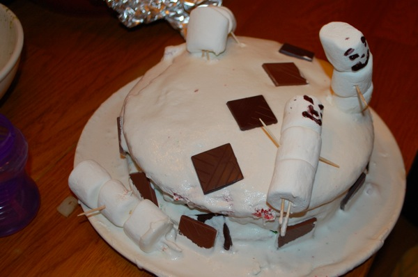 Wrecked Christmas Cake 8