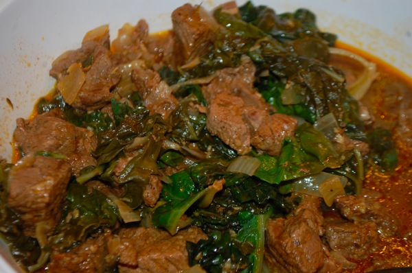 Seasoned Up Lamb with Kale 4