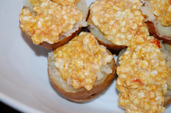 Potatoes Stuffed with Spiced Cottage Cheese 4