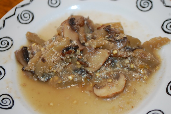 Eggplant with Mushrooms 3