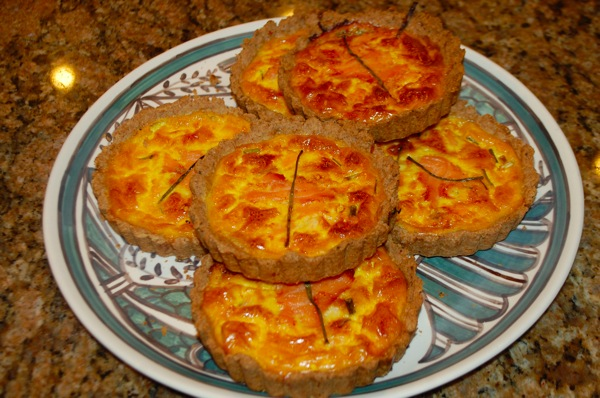 Smoked Salmon Tartlets 1