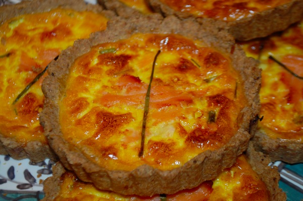Smoked Salmon Tartlets 3