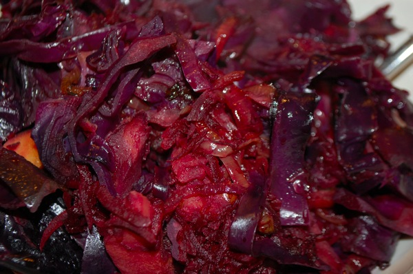 Red Cabbage and Beet Braise 3