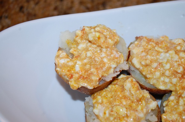 Potatoes Stuffed with Spiced Cottage Cheese 3