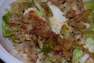 Spiced Cabbage 1