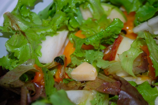 Salad with Apples and Gouda 3