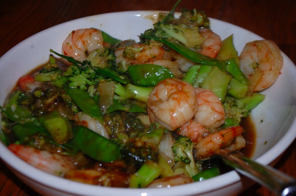 Shrimp and Vegetable Stir Fry 1