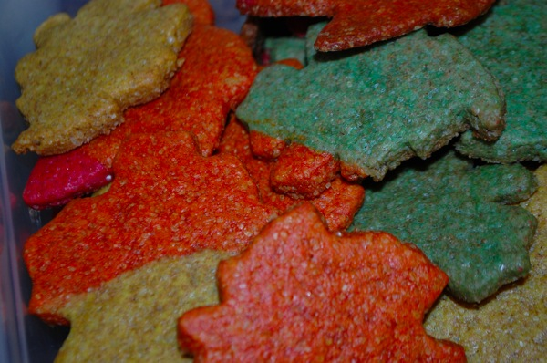 Whole Wheat Leaf Cookies 1