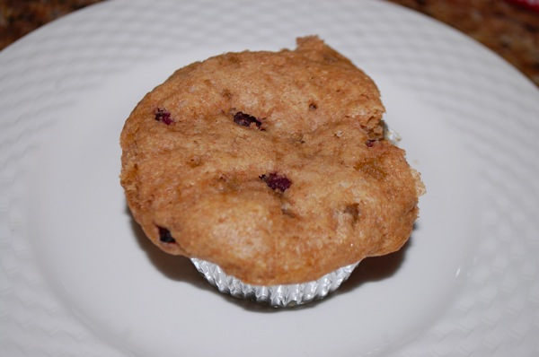 Pomegranate and Ginger Muffin 2