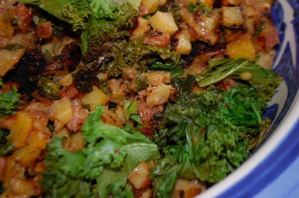 Kale with Potatoes 2
