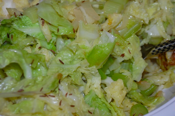 Cabbage with Onions 2