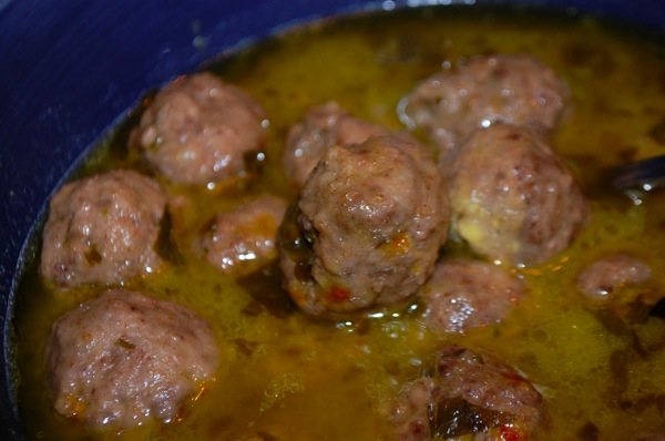 Meatballs with Egg Yolk 2